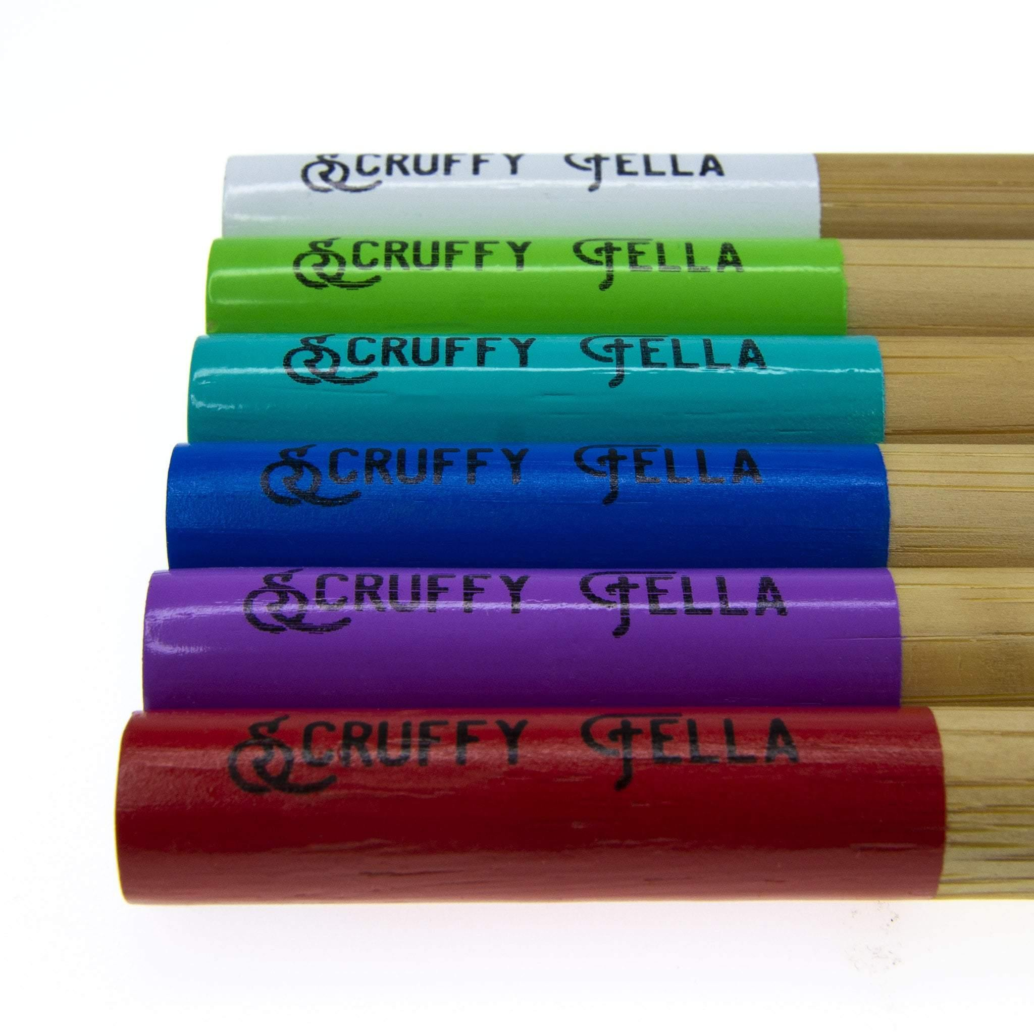 Bamboo Toothbrush colours