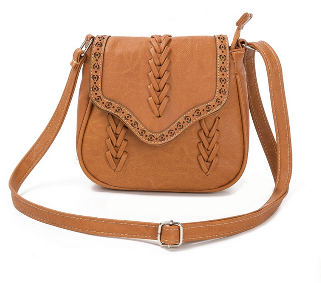 Mia Hollow Out Vintage Style Crossbody Bag