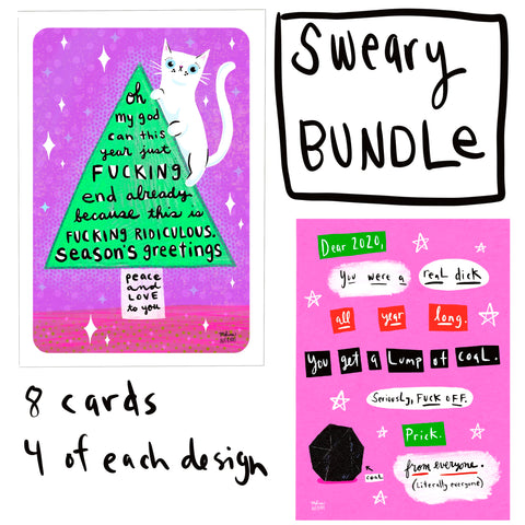 SWEARY CARD BUNDLE
