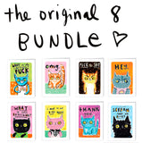 THE FIRST 8 CARDS bundle - save $5
