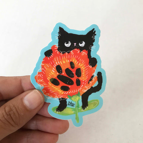 POPPYCAT sticker