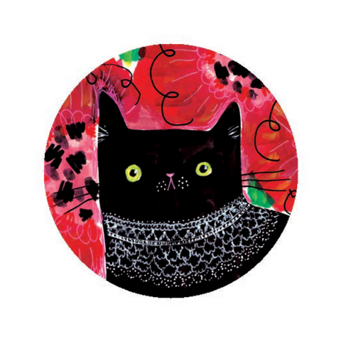 RBG CAT  button