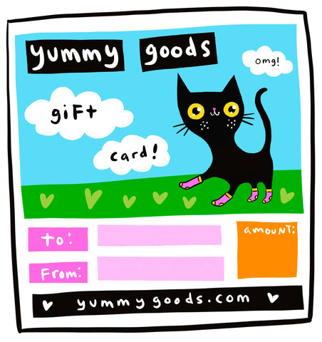 Yummy Goods Gift Card!
