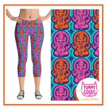 GANESH capri leggings