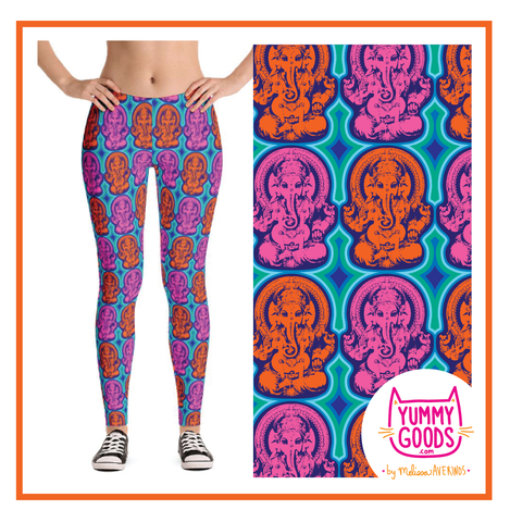 GANESH leggings - Melissa Averinos