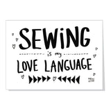 SEWING THEMED card bundle - save $5!