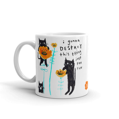 POPPY CATS Mug - Melissa Averinos