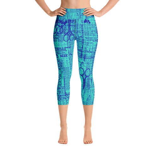 DRESSMAKER High-Waisted Capri Leggings - Melissa Averinos