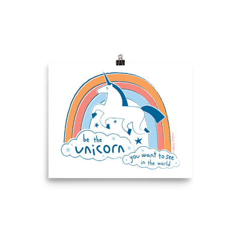 BE THE UNICORN print