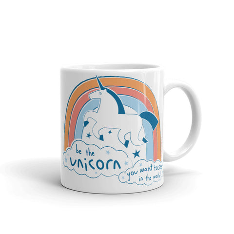 BE THE UNICORN Mug - Melissa Averinos