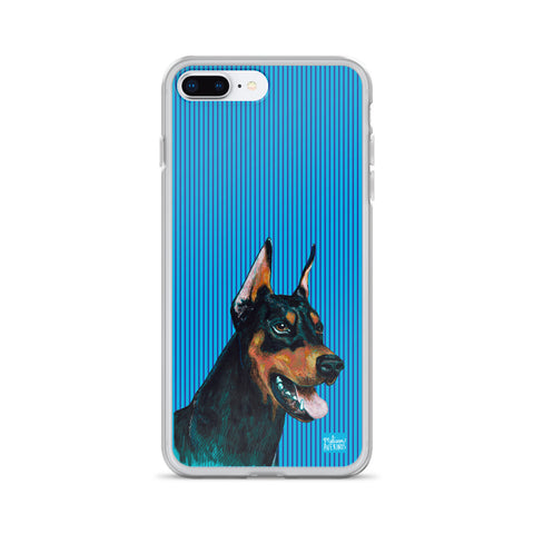 DOBERMAN iPhone Case - Melissa Averinos
