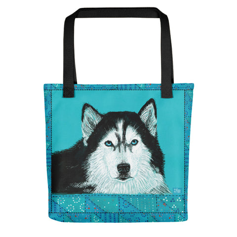 King Husky Tote bag - Melissa Averinos