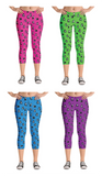 STELLAR CATS capri leggings - Melissa Averinos