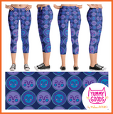 SUN AND MOON capri leggings - Melissa Averinos