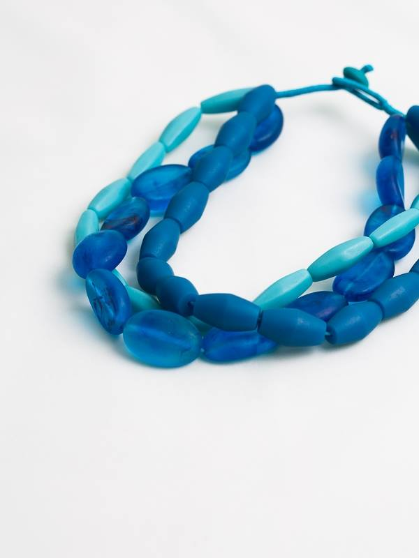 Alessandra Triple Strand Necklace