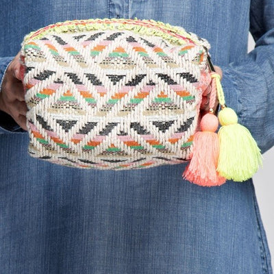 Madras Makeup Bag