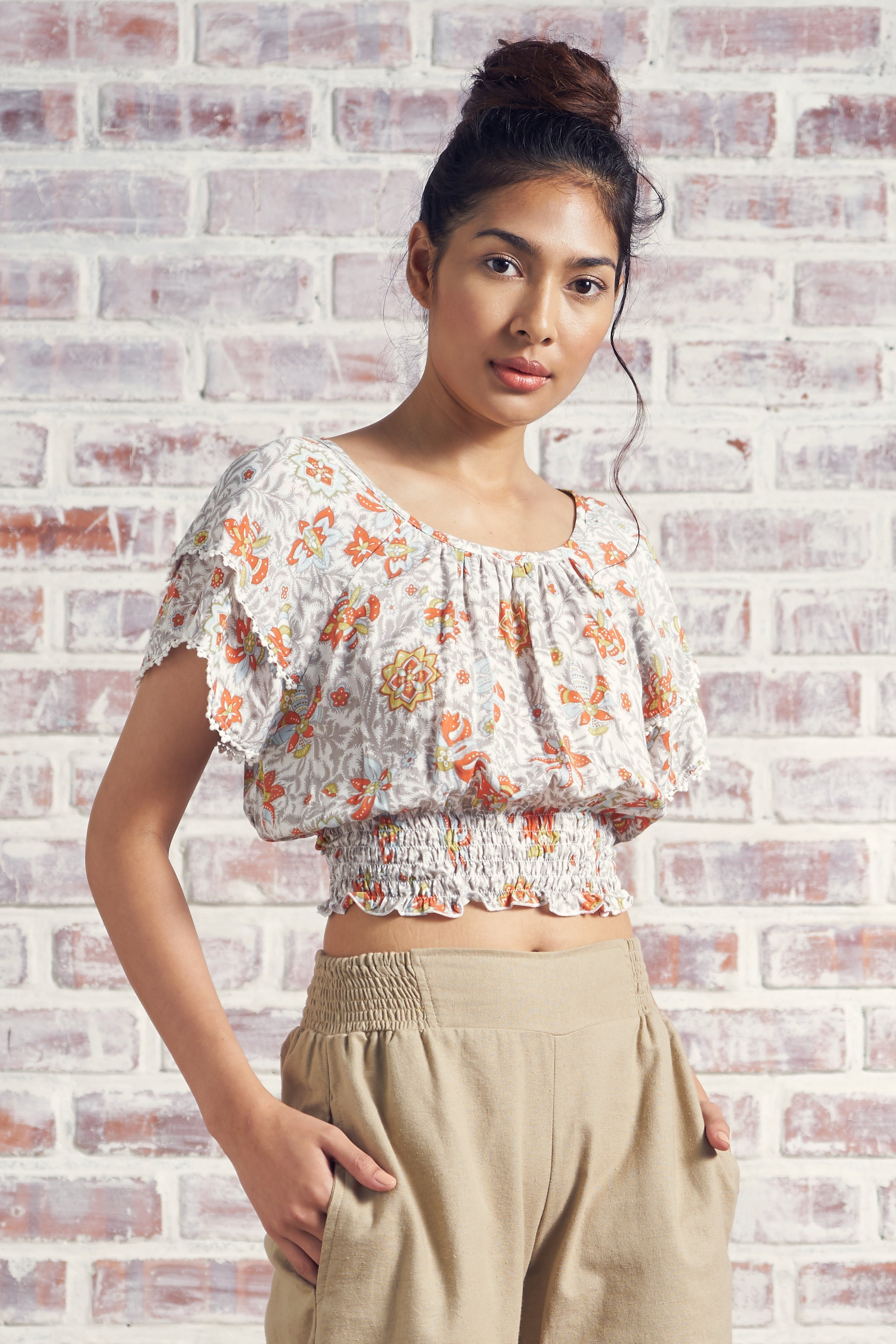 Lucia Top (Printed)