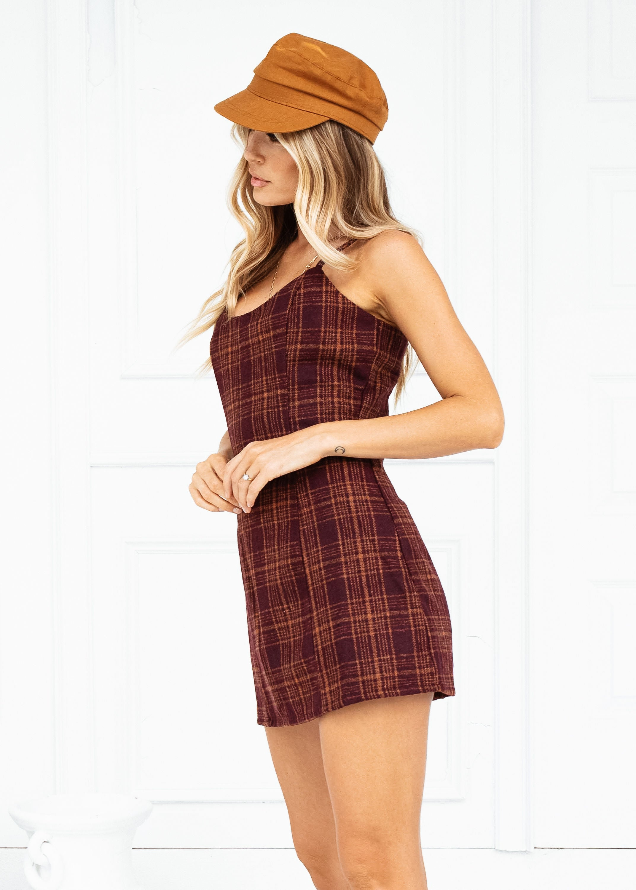 ALL YOU NEED PLAID DRESS - Sista Somewhere