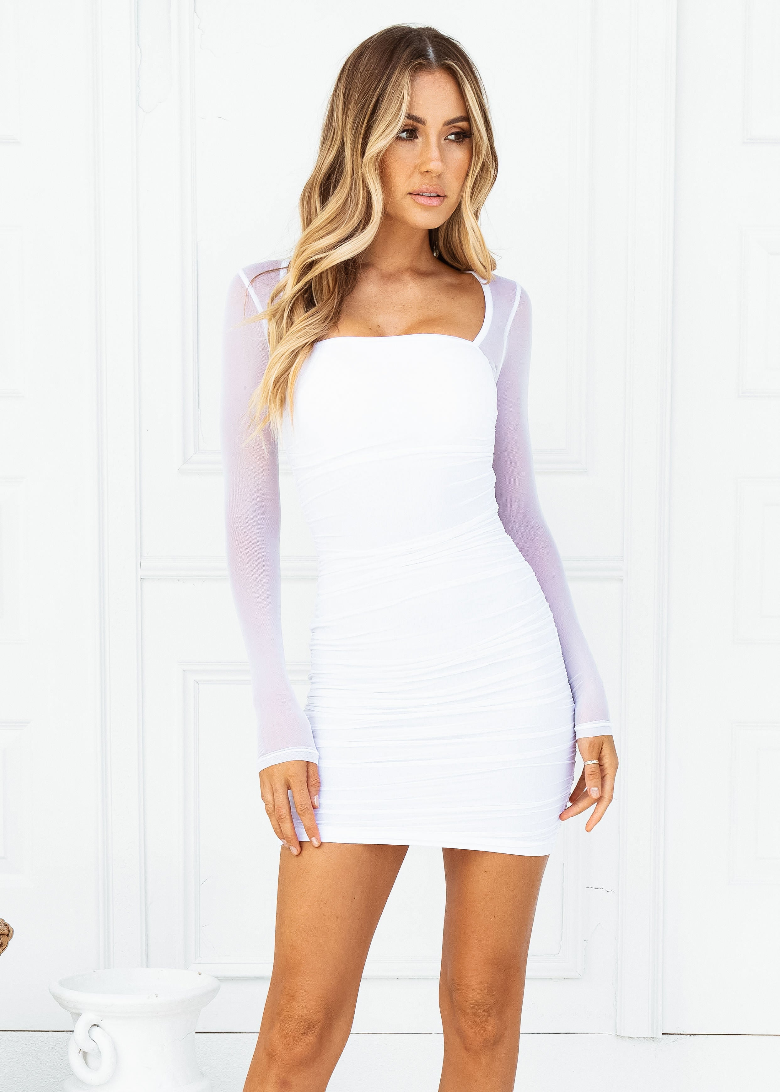 KAHLO MINI DRESS - Sista Somewhere