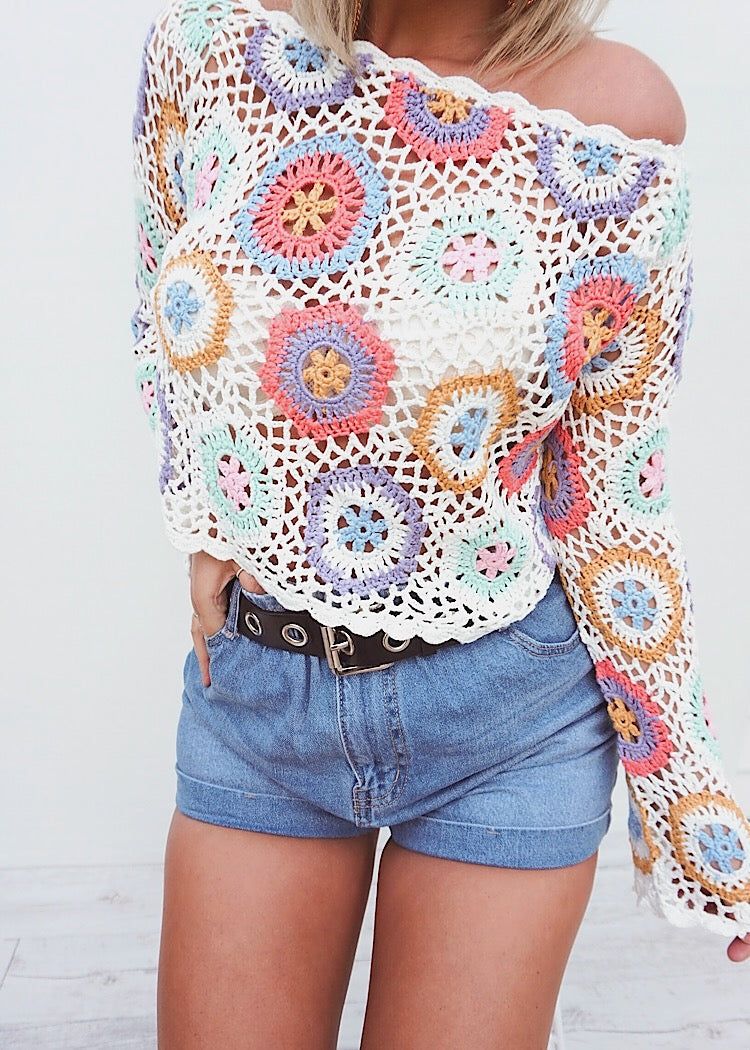 HINTERLAND CROCHET TOP - Sista Somewhere