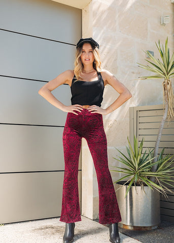 DUSK TO DAWN FLARED PANT