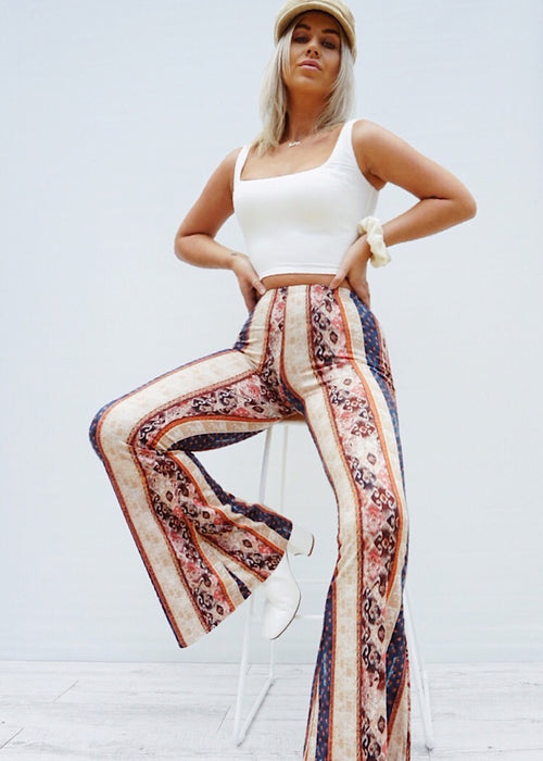 DUSK TO DAWN FLARED PANT - Sista Somewhere