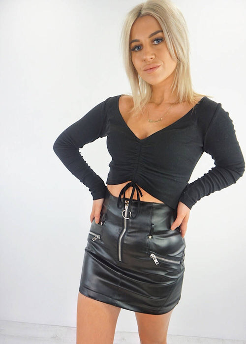 MISSION MINI SKIRT