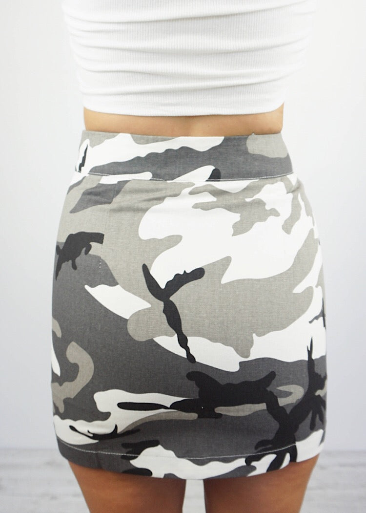 PUBLIC ENEMY MINI SKIRT