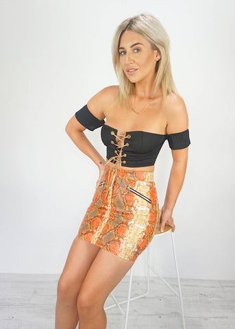 PANAMA MINI SKIRT