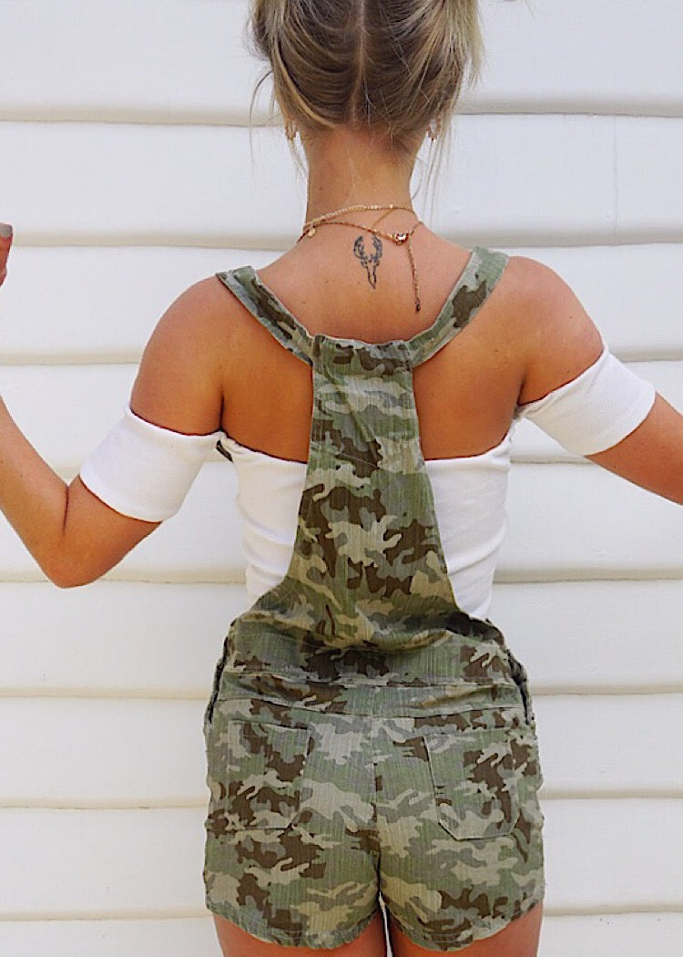 URBAN CAMO PLAYSUIT