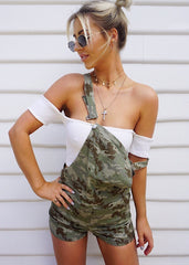 URBAN CAMO PLAYSUIT - Sista Somewhere