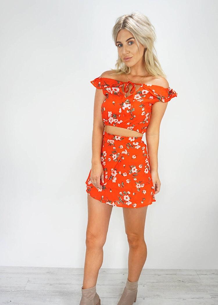 SIENNA TWO PIECE FLORAL SET