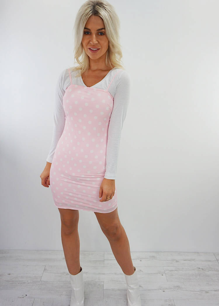 CROSS ROADS MINI DRESS - Sista Somewhere