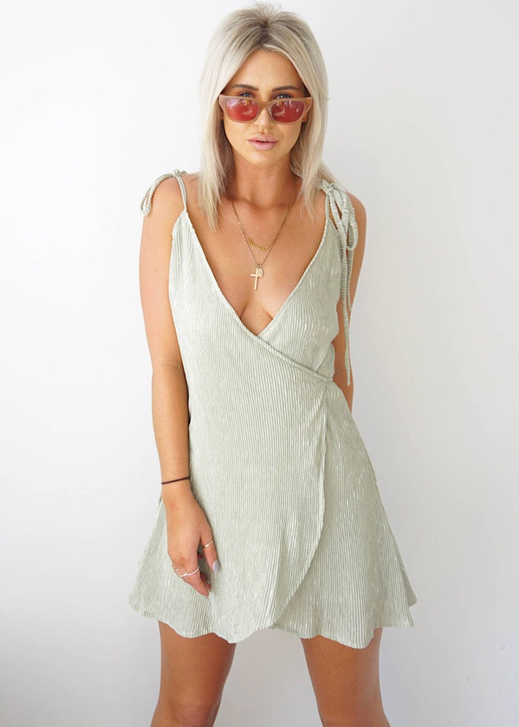 SCARLETTE WRAP DRESS