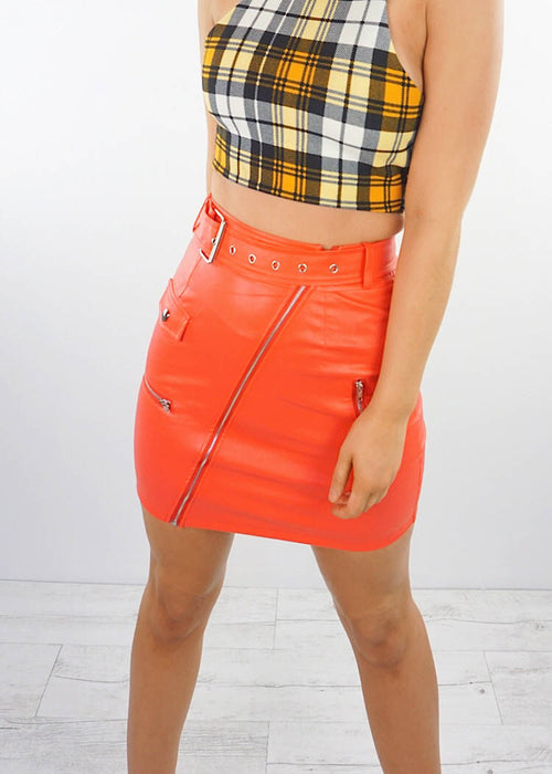 PHOENIX RISING MINI SKIRT