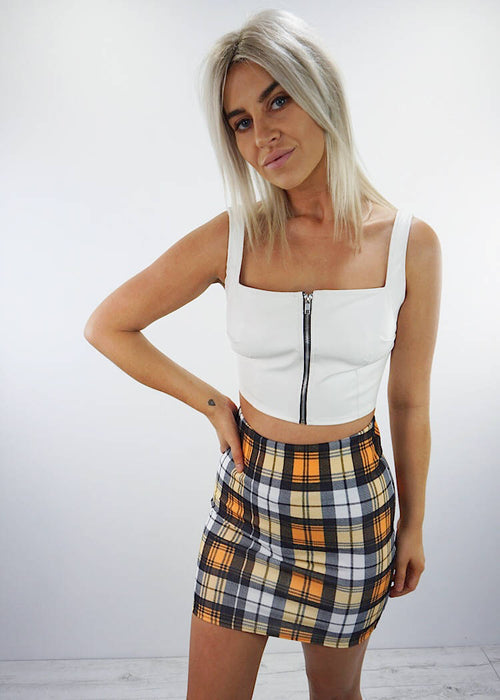 CUBAN SUN MINI SKIRT
