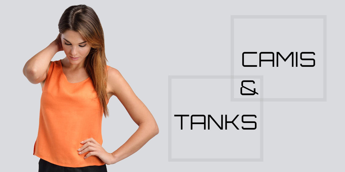 linen tank top to wear with jacket
