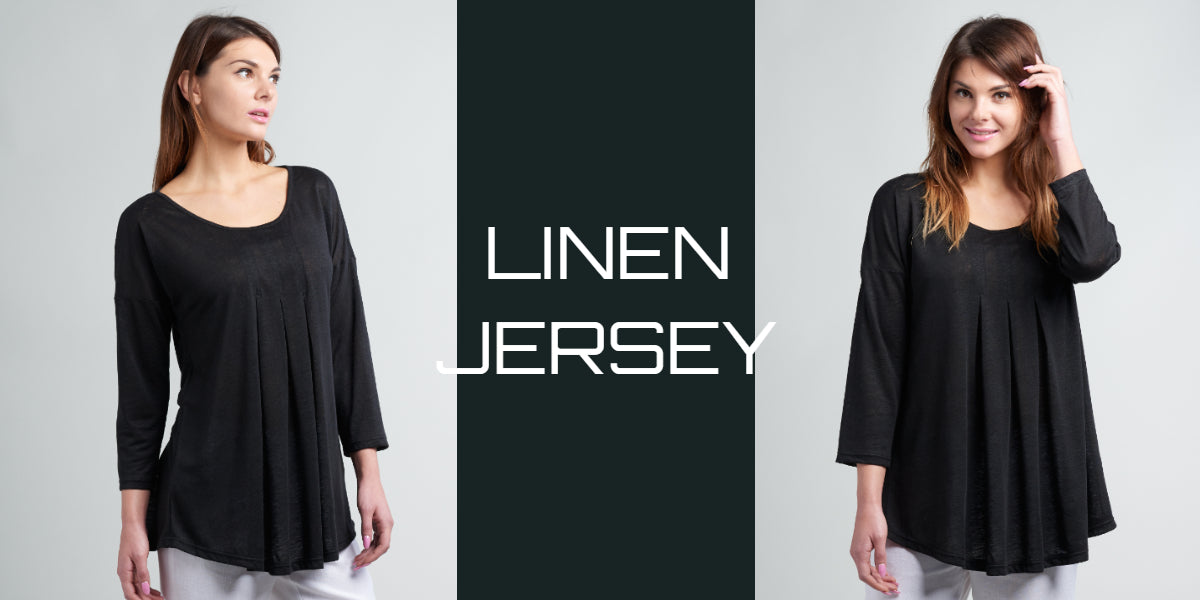 Wrinkle free linen jersey collection