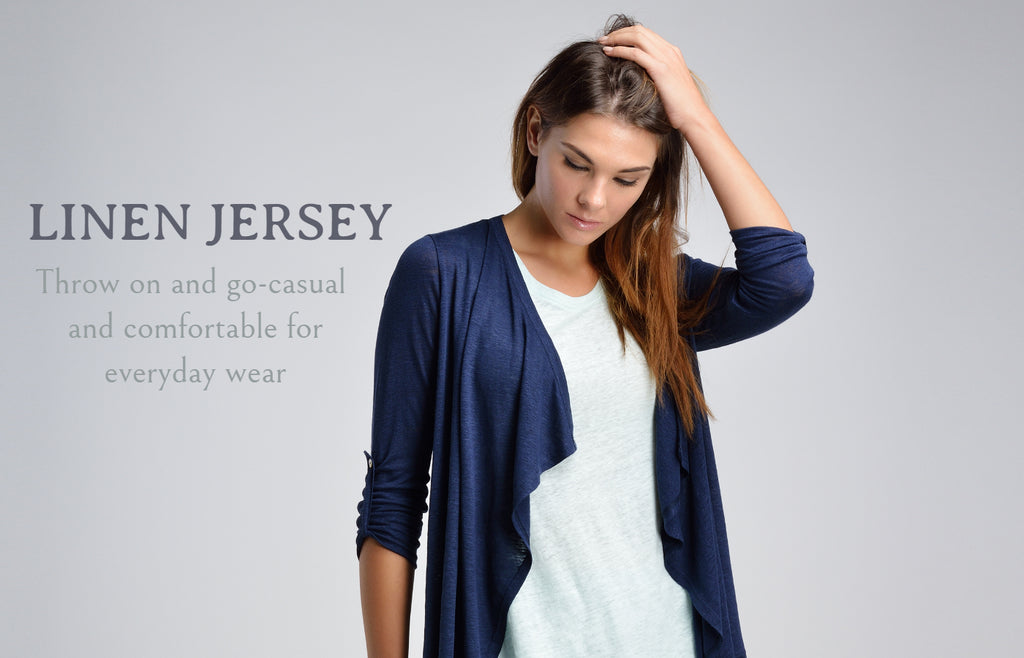 Linen jersey collection