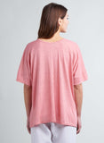 Linen Jersey Patch Pocket Tee