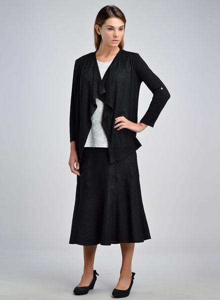Linen Jersey duster work wear
