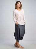 Pastel color linen tops