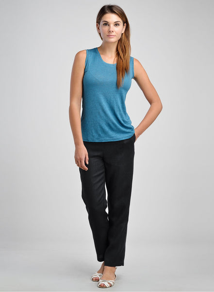 Linen camisole in variety color