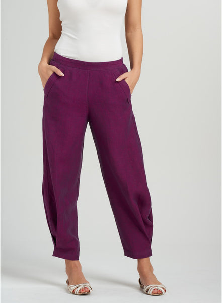 linen trousers ankle length