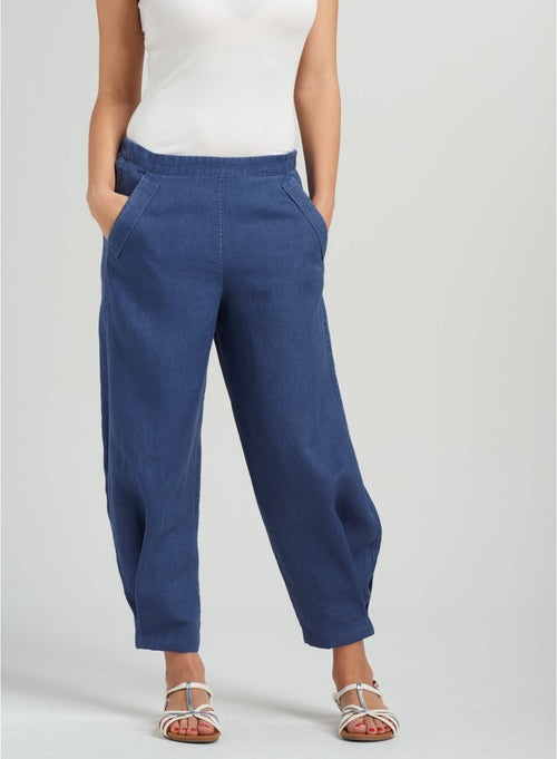 Casual linen pants for your summer days