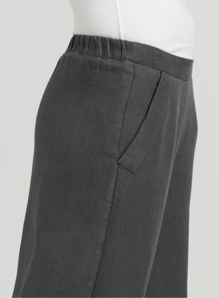 Elizabeth Linen Easy-wear Structured Pants