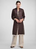 Linen Double Layers Tunic