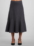 Linen Multi Panel Trumpet Long Skirt