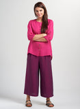 Beautiful color linen outfit