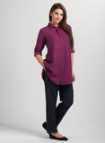 Long linen tunic wear with leggings